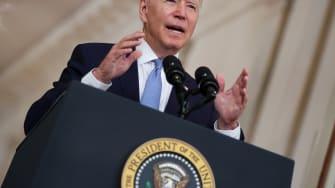 Biden discusses Afghanistan