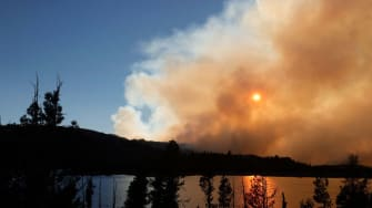 The Caldor Fire in Northern California.