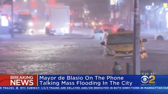 New York City flood