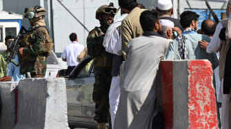 The Taliban at the airport