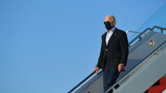 Biden departs Air Force One