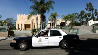 LAPD cruiser.