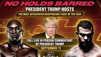 Trump boxing poster