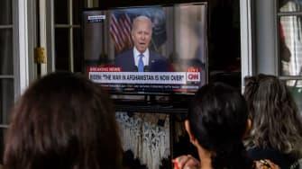 Joe Biden on TV.