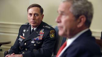 David Petraeus, George W. Bush