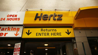 Hertz sign.