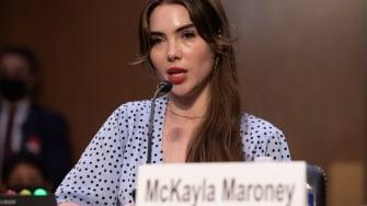McKayla Maroney.