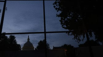 Capitol fence.