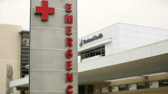 An emergency room in Idaho.