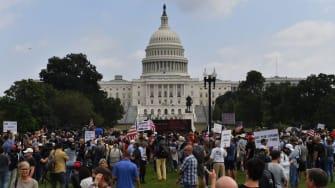 Protest in D.C.
