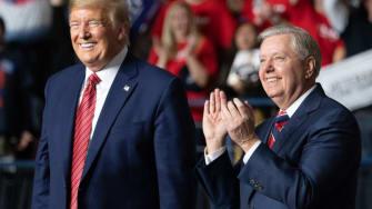 Donald Trump and Lindsey Graham