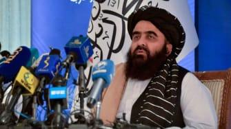 Taliban Foreign Minister Amir Khan Muttaqi.