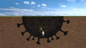 A COVID hole.