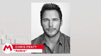 Chris Pratt is Mario