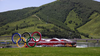 Olympic Village for 2022 Beijing Games