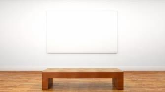 A blank canvas.