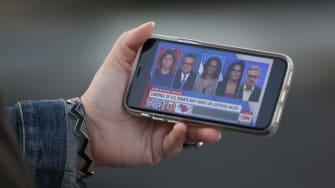 Phone streaming CNN.