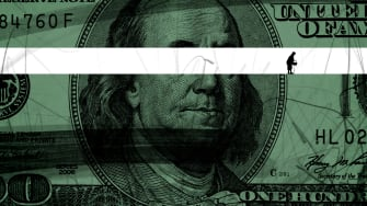 A hundred dollar bill.