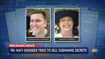 Jonathan and Diana Toebbe