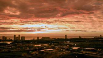 A view of Mazatlan.
