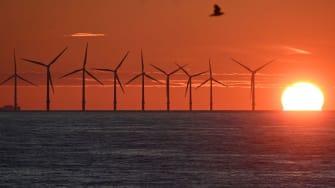 Wind farm in U.K.