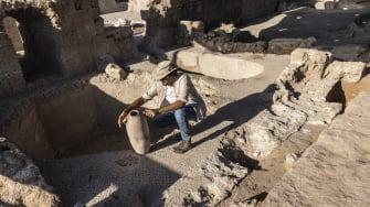 Israeli archaeology.
