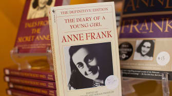 """A copy of """"The Diary of Anne Frank."""""""