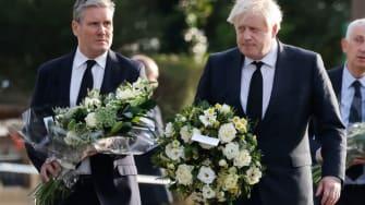 Keir Starmer and Boris Johnson