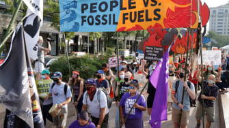 D.C. fossil fuel protest