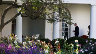 Joe Biden at White House.