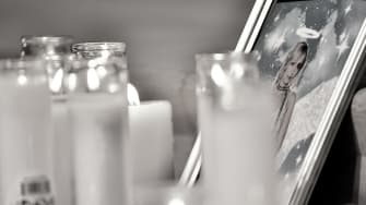 A vigil for Halyna Hutchins