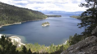 Lake Tahoe on Oct. 20.