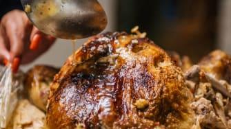 Thanksgiving turkey.