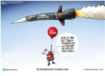 Political Cartoon.