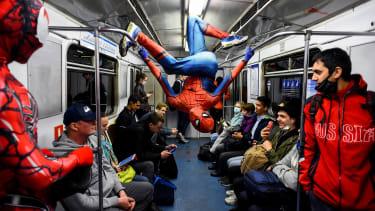 Subway dancers.