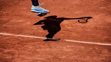 A tennis player.