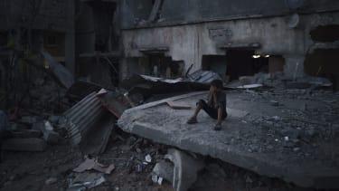 The Gaza Strip.