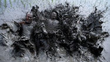 Muddy farmers.