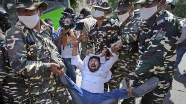 A protester.