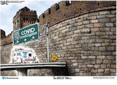 COVID investigation blockade