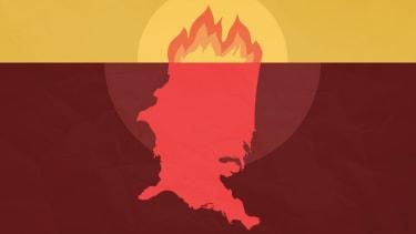 America on fire.