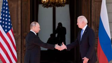 Biden meets Putin
