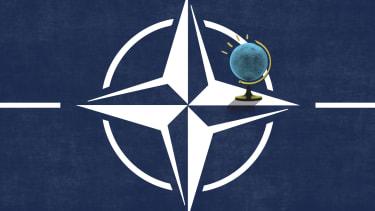 The NATO symbol.