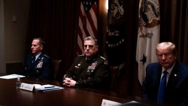 Trump and Gen. Mark Milley