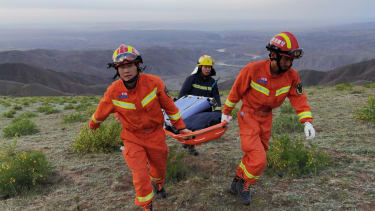 Rescue effort after extreme weather hits ultramarathon in China.