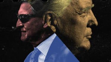 Michael Flynn and Donald Trump.