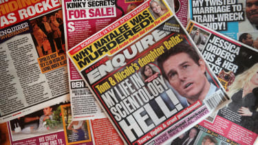 National Enquirer covers.