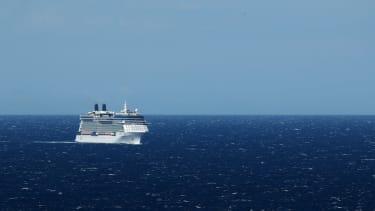 A Celebrity Cruises ship.