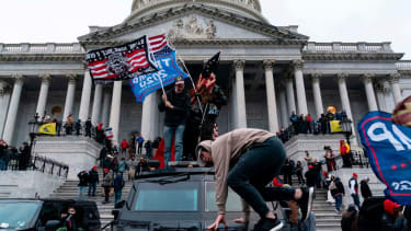 Participants in the Jan. 6 Capitol riot.