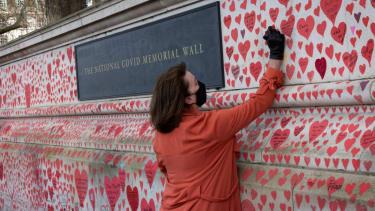 COVID-19 memorial in UK